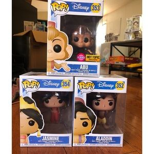 Aladdin Funko POP Collection